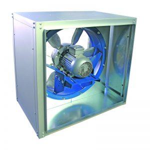Cxm Caja De Ventilación Axial 400ºc 2h