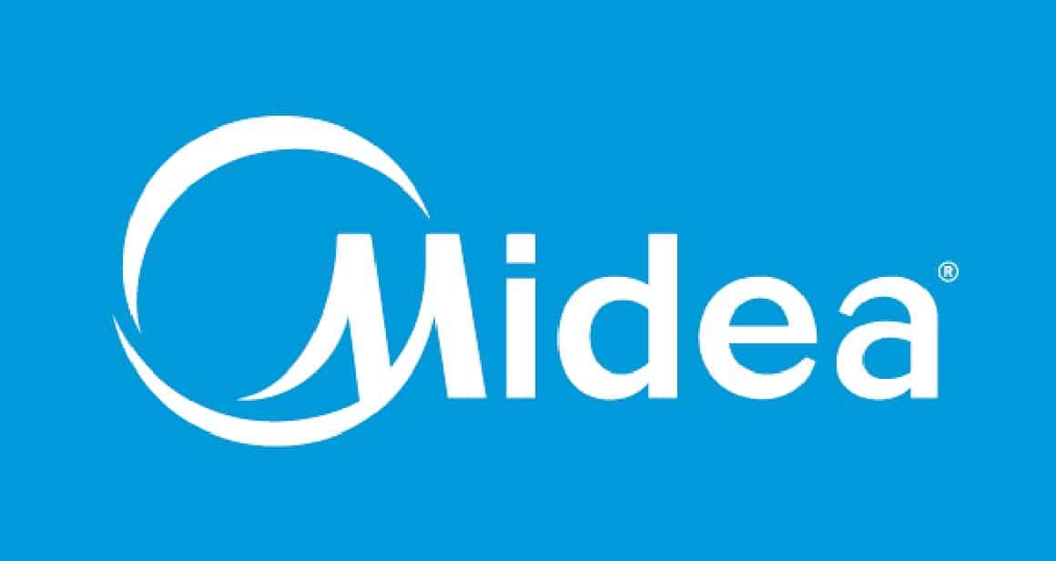 Midea Logo Azul Sencillo 001